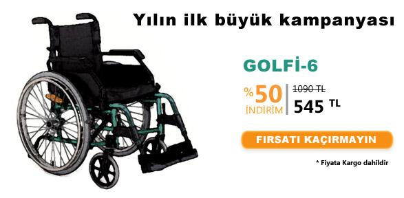 golfi6 - [Kampanya SONA ERD�] Golfi-6 Manuel Tekerlekli Sandalye