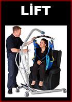 Hasta Taşıma Lifti ve sling seçenekleri